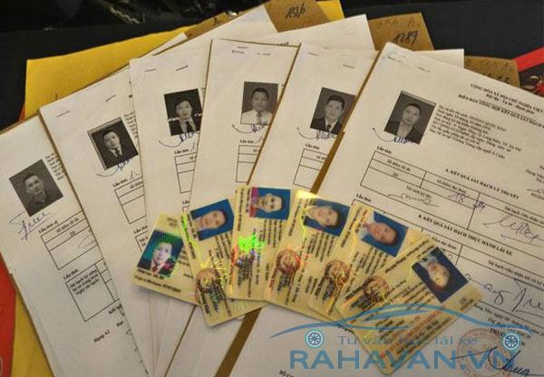 Cấp đổi giấy phép lái xe nhanh gọn, thu hồ sơ tận nhà