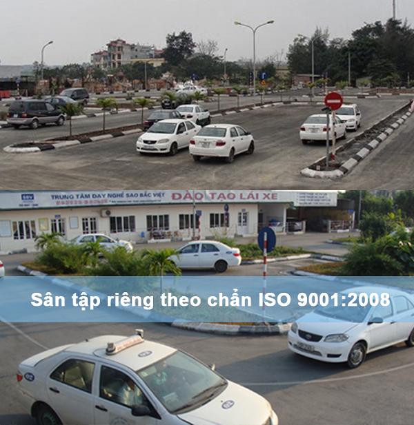 Bãi tập xe ô tô Hà Đông (Sao Bắc Việt)
