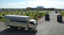 Học lái xe tải
