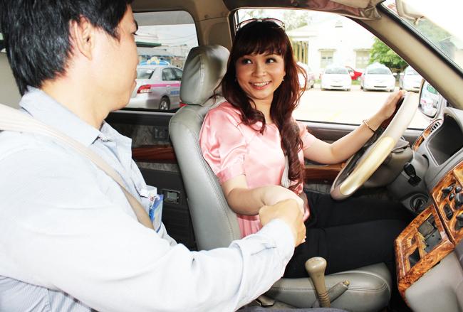 Kinh nghiệm học thực hành lái xe ô tô