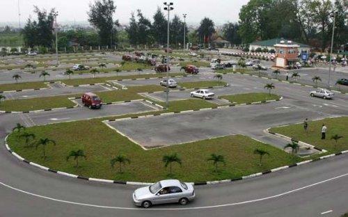 Danh sách sân tập thực hành lái xe ô tô tại Hà Nội