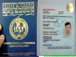 Thi bằng lái xe ô tô cho người nước ngoài