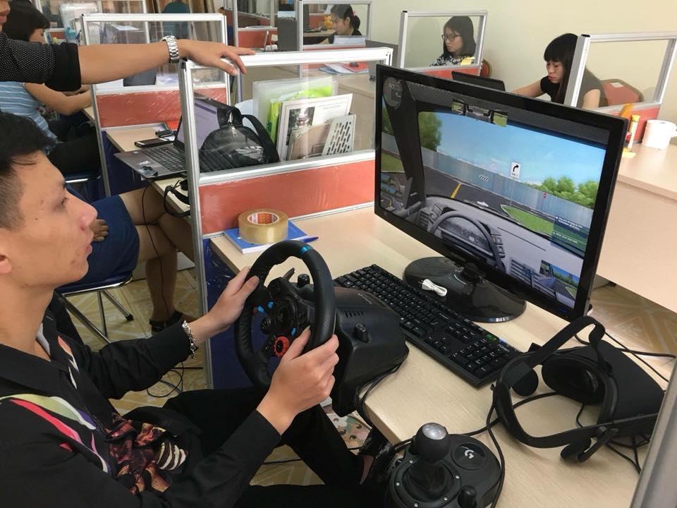 mô hình học lái xe