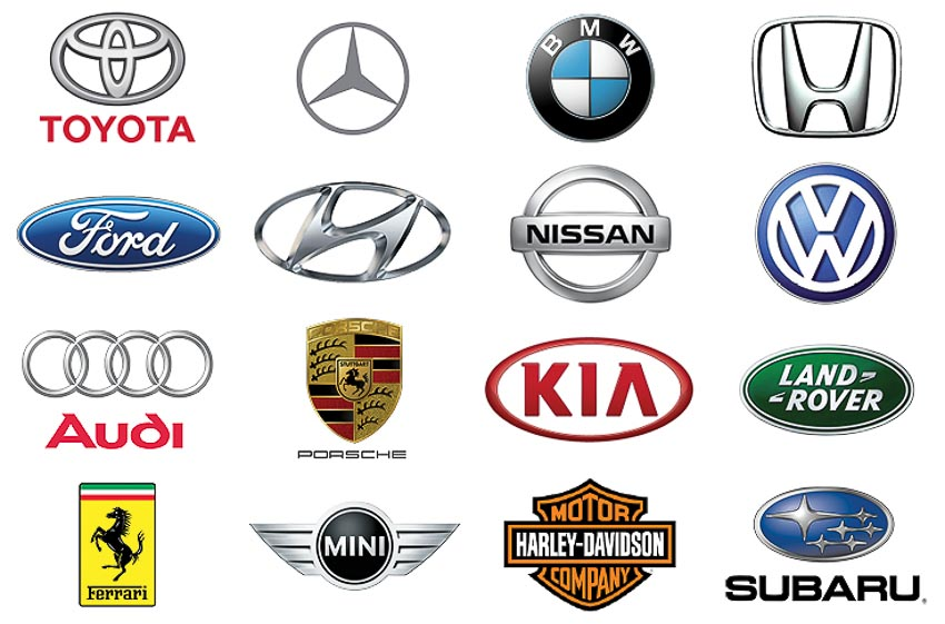 Top hãng xe nổi tiếng thế giới